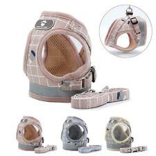 Pet Dog Harness Mesh Reflective Leash Set Soft XS-XL Puppy Cat Vest Harness