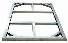 Tepro 7404 Metall Unterkonstruktion für Gartenhäuser Haustyp 1a, Wood Typ B