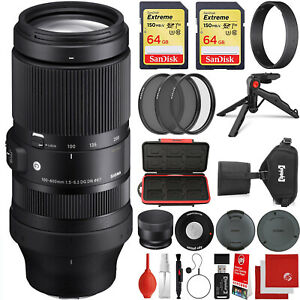 Sigma 100-400mm f/5-6.3 DG DN OS Contemporary for Sony E-Mount + 128GB Kit