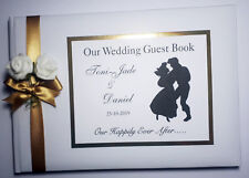 DISNEY LITTLE MERMAID / ARIEL AND ERIC WEDDING GUEST BOOK  - any design