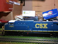 Broadway Limited 2606 HO GE AC6000 CSX Type. # 648  Diesel Loco Paragon2