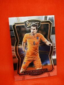 Panini Select soccer 2017-18 MINT Pays-Bas Kevin Strootman #171