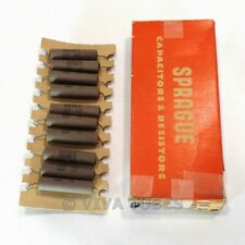 NOS NIB Box of 10 Sprague Koolohm Resistors 10 Watt 5000 5K ohm
