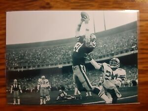 Dwight Clark 49ers Football 4x6 Super Bowl Photo Picture Card