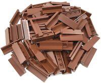 Lego 100 New Reddish Brown Panels 1 x 4 x 1 Pieces Parts