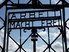 "Photo 2000s Dachau Nazi German Concentration Camp - Gate ""Arbeit Macht Frei"""