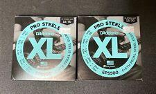 2 Pack! D'Addario Eps500 Pedal Steel Strings, C-6th