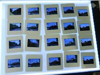 Vintage Lot of 38 Train 35mm Slide New Jersey CSX Norfolk Southern Locomotive  4