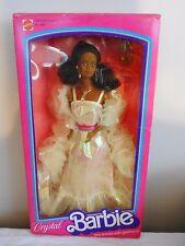 Vintage 1983 CRYSTAL Barbie Doll #4859 African American Sealed in Box