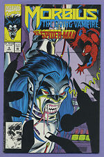 Morbius the Living Vampire #4 1992 Spider-Man Len Kaminski Ron Garney Marvel v