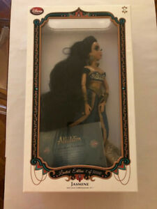 PRINCESS JASMINE - Disney Store Limited Edition Aladdin Animated Doll