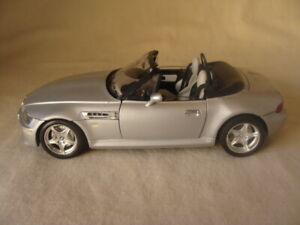 Die Cast Bburago BMW 1996 Roadster 1/18 Gray Silver
