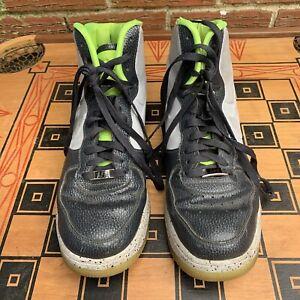 Nike Lunar Force 1 High Men 12 US Air Force One Gray Grey Green 630998 002