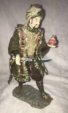 Nativity Wise Man King Melchoir Figurine Member's Mark Handpainted Porcelain