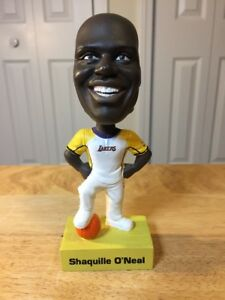 Rare Shaq Shaquille O'Neal Bobble Head 6 1/2 Inch 2001 Upper Deck NBA Bobblehead