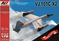 A&A Models 7202 VJ101C-X2 Supersonic-Capable VTOL Fighter plastic model kit 1/72