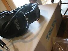 NEW TELEX Aviation Trucker Headset w/ Mic & Nexus Plug TP-120 # Airman 3100 (?)