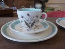 White Alfred Meakin Pottery Cups & Saucers