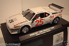 qq 88315 FLY BMW M1 24H DAYTONA '80 No 25 MILLER - COWART RED LOBSTER