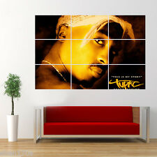 Tupac Shakur 2Pac Poster Giant Huge Wall Art Large T7T5