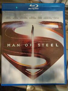 Man of Steel (Blu-ray, 2013) Superman DCU Henry Cavill Russell Crowe