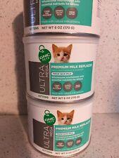 Ultra Mega GNC Pets Premium Milk Replacer for Kittens Cats 6oz Exp 06/2021