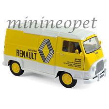 Norev 185168 1972 Renault Estafette Assistance Renault 1/18 Diecast Model Yellow
