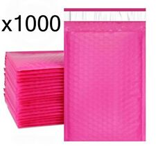 1000 Bubble Mailers ~ Pink 6x10 ~ Packaging Shipping Supplies ~ #0
