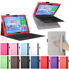 PU Leather Folio stand cover Case for Microsoft Surface Pro 3 12-inch Tablet NEW