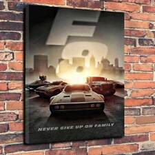 "The Fate Of The Furious Canvas Print A1.30""x20""~Deep 30mm Frame Fast 8 V1"