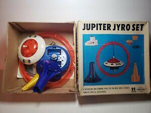 Vintage Tomy Jupiter Jyro Set - Works - In original box