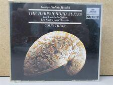 W.GERMANY PDO FS *READ* - HANDEL The Harpsichord Suites COLIN TILNEY 2-CD Archiv
