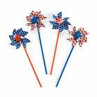 Patriotic Pinwheels - 36 Pc. - Toys - 36 Pieces
