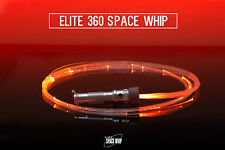 Fiber Optic LED Rave Toy Space Whip Lumi Glow cyber punk hipster USA colors