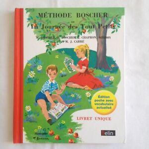Méthode Boscher Ou La Journée Des Tout Petits. Livret Unique. Edition Poche