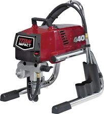 New Wagner Titan 805 000e Impact 440 Skid Airless Paint Sprayer Complete