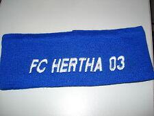 Stirnband Gewebt+Bestickt Hertha 03 Zehlendorf Fussball Fanartikel