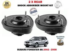 FOR SUBARU FORESTER 2.0 2.5 2002-2008 2 X REAR SHOCKER TOP SUSPENSION MOUNTINGS