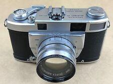 Minolta Super A Rangefinder Kamera mit 5cm f/1.8 Super Rokkor Chiyoda Kogaku