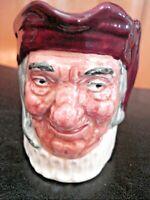 "Vintage Royal Doulton Old Character Jug ""Simon the Cellar"" Toby Mug 3 1/4"""