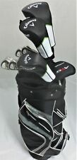 Ladies Callaway Golf Set Driver, Wood, Hybrid, Irons Putter Bag Womens Graphite