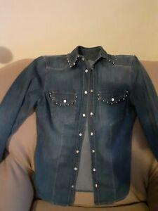 Camicia jeans donna LIU.JO Tg.38 in cotone. In buone condizioni.