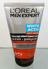 Loreal Men Expert WHITE ACTIVE Anti-Ance Volcano Mineral Brightening Foam 100ml