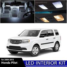 15PCS White Interior LED Light Package Kit For 2009 - 2013 Honda Pilot
