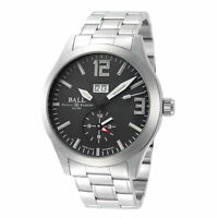 BALL Men's Engineer Master II Voyager GM2086C-S6J-BK 44mm Black Dial SS Watch