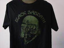 BLACK SABBATH ★ schweres schwarzes T-Shirt * NEU * Siebdruck * Metal * HardRock