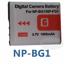 Type li-ion Battery NP-BG1 For Sony NP-FG1 CyberShot DSC-W200 DSC-W120 DSC-W100
