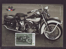 Luxembourg 2017 Maxi Card - Motorcycles, Harley Davidson - Club - with 1 stamp