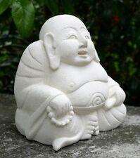 NEU edel HAPPY BUDDHA Sandstein Budda Feng Shui BHSand1