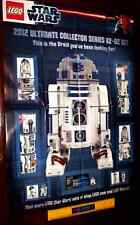 LEGO STAR WARS 2012 LIMITED EDITION PROMOTIONAL POSTER 10225 UCS R2D2 RD-D2  NEW